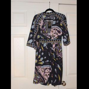 BCBGMaxAzria Paisley Dress - Size M